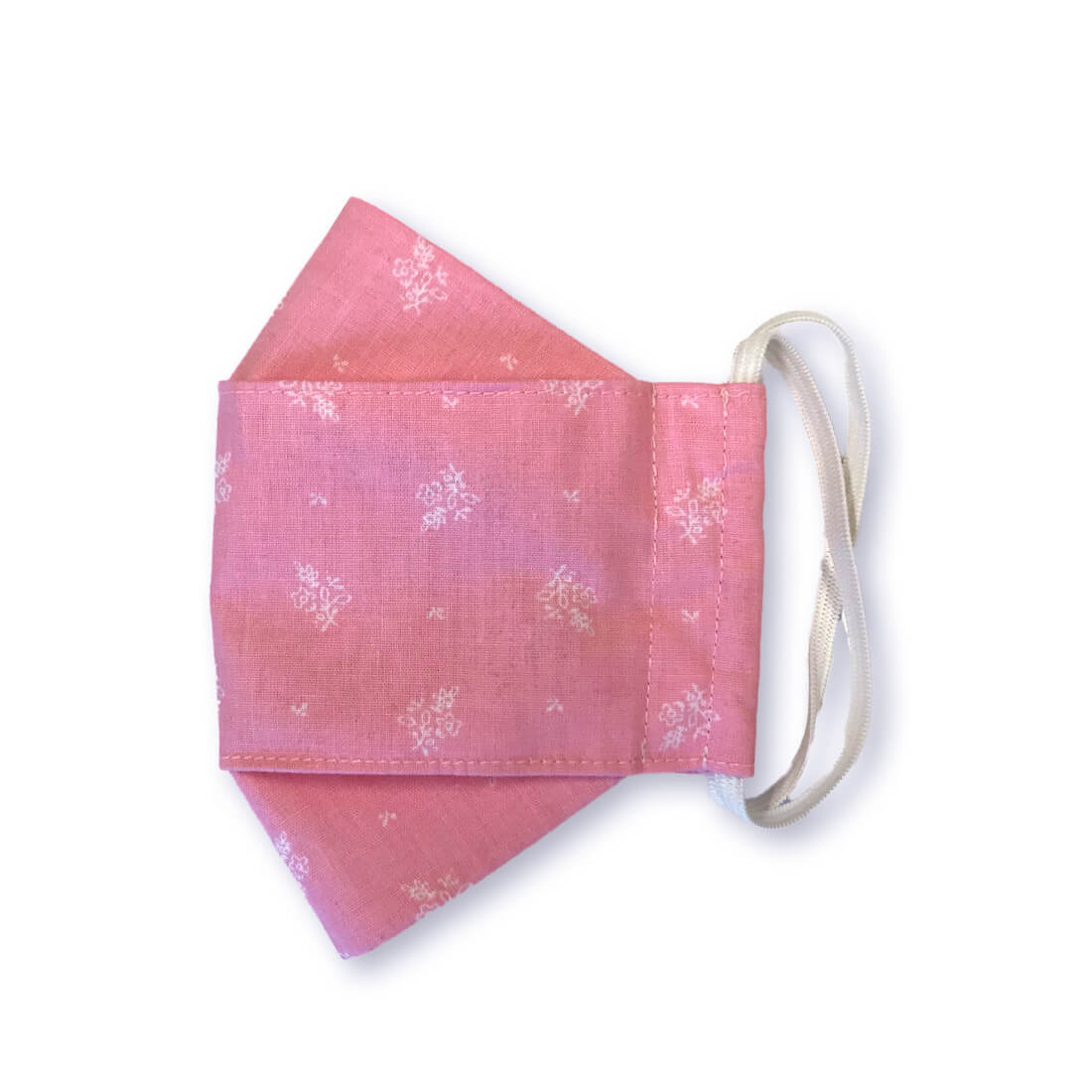 "Stoffmaske ""ORIGAMI"" - Trachtenstoff rosa"